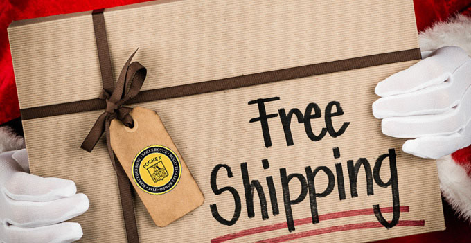 Free Shipping with all the Kits