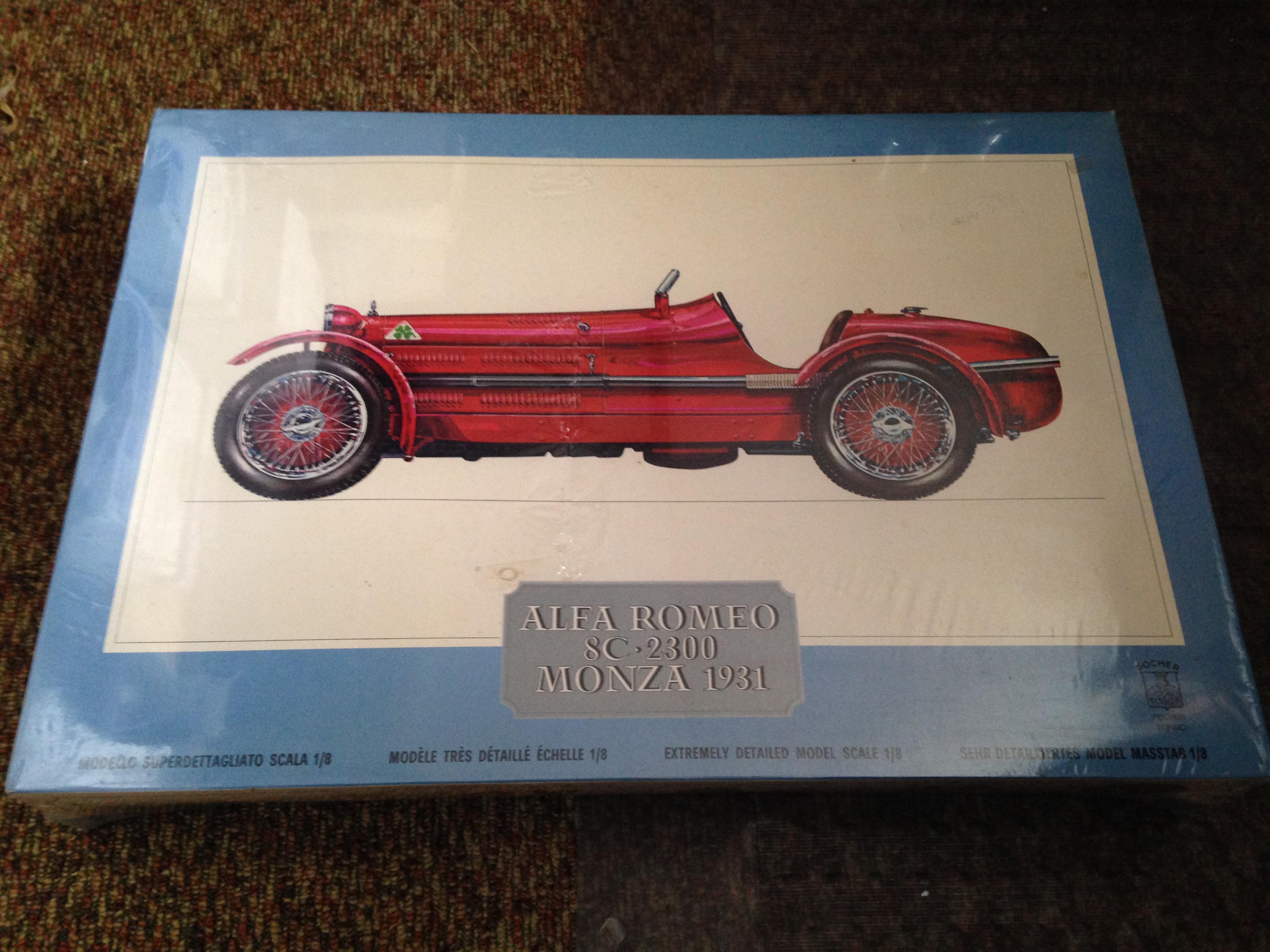 Pocher Alfa Romeo K71 Model Kit ***SEALED***