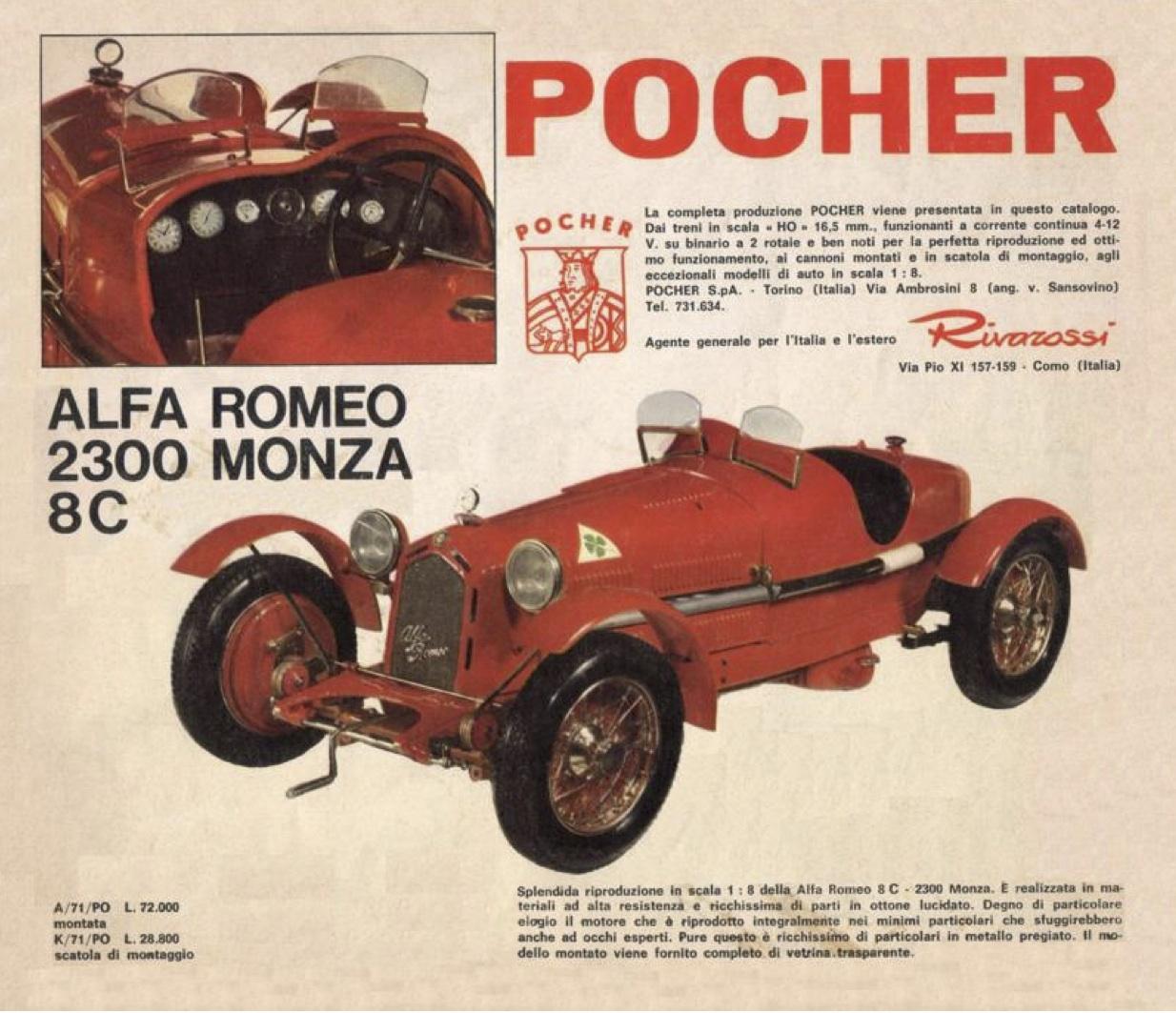 Pocher 1967/68 Catalog